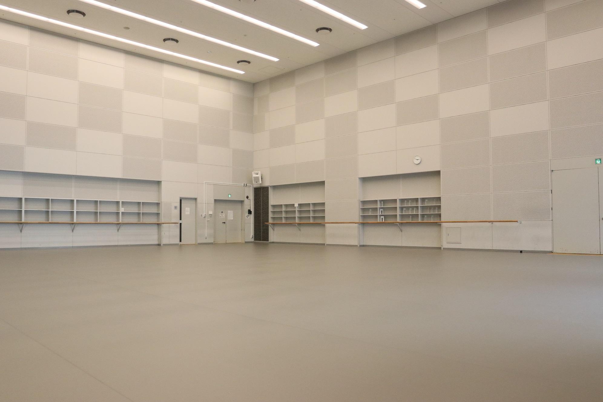 バレエリハーサル室・Bリハーサル室